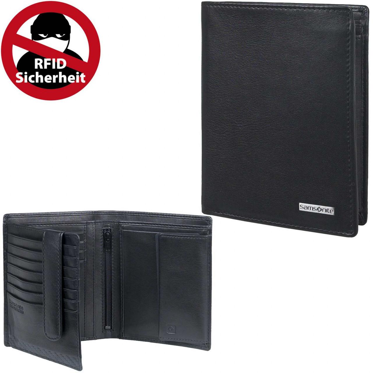 Samsonite Hochformatbörse S-Derry SLG black