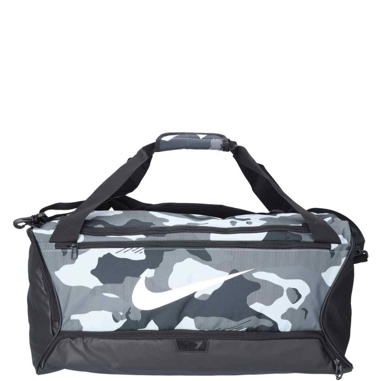 Nike Reise/Sporttasche M Brasilia Duffel grey/black/white