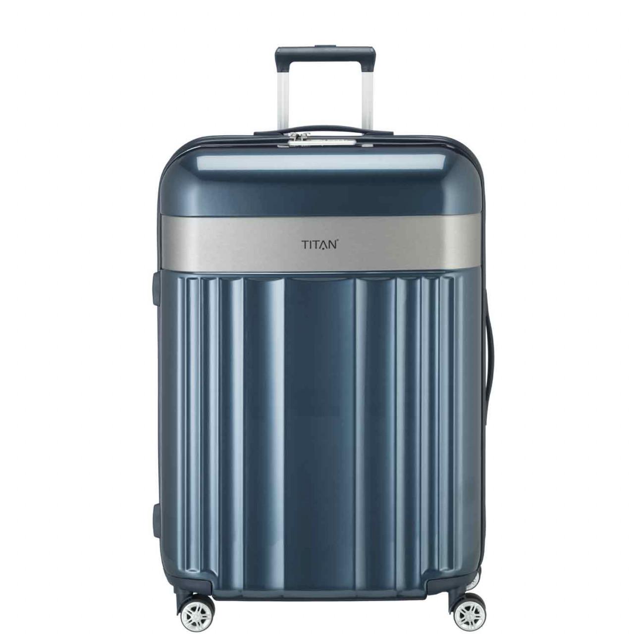 Titan ~Trolley 67cm 4 Rollen SPOTLIGHT FLASH blau