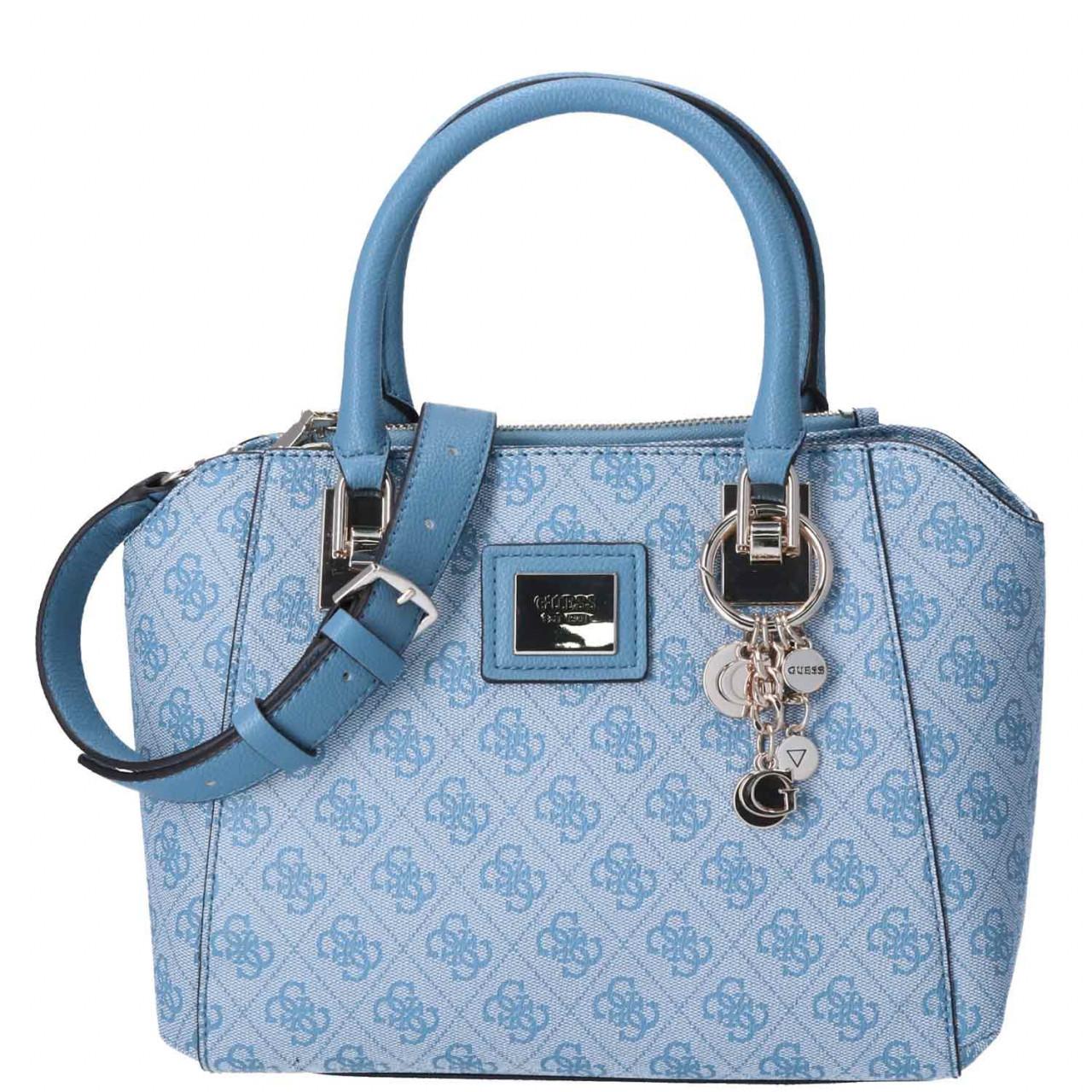 GUESS Damen Handtasche Candace sky